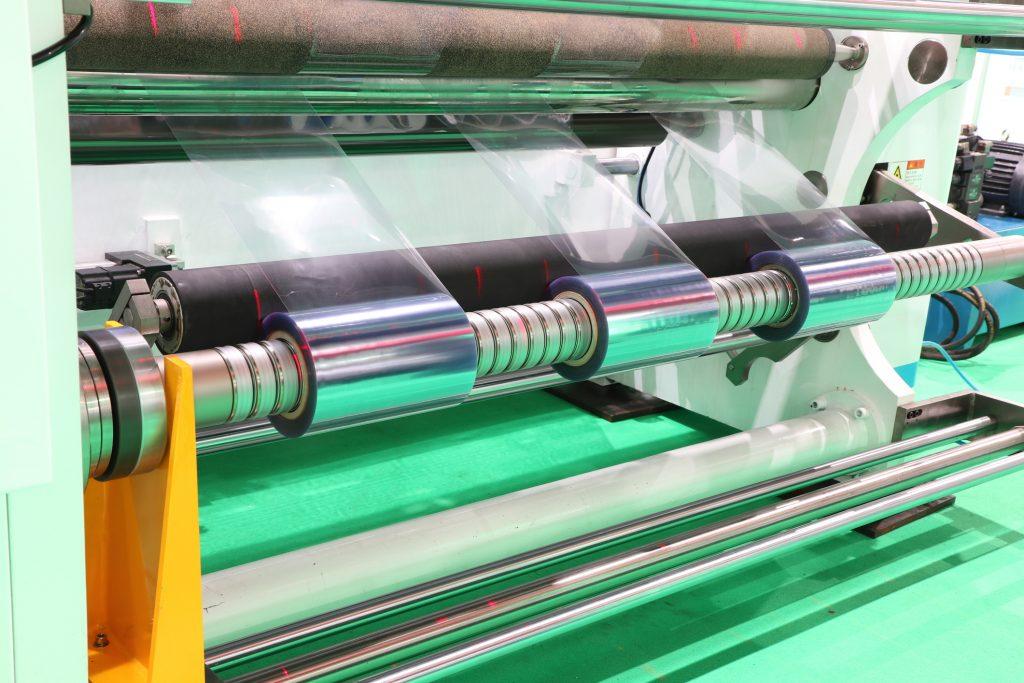 Production Capabilities - Film Roll Slitting Machine